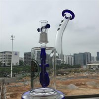 anchor nails - New Arrival inch glass bongs anchor perc glass bongs oil rigs dab bong smoking water pipes m joint dome glass nail glass bong DGC1242
