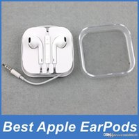 Universal apple earpods - Original Quality Apple EarPods Earphones Headphones Headset with Mic and Volume Control Crystal Box for iPhone SE c s s Plus iPad
