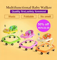 baby stroller lock - multifunctional baby walkers auto safe lock music foldable baby walker with wheels baby stroller baby carrier
