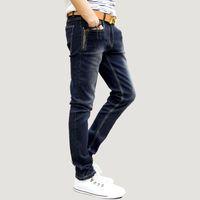 best mens designer jeans - HOT Best Sale Men s Autumn Winter Jeans Fashion Fake Designer Clothes Zippers Skinny Mens Tapered Jeans Stretch Jeans Men