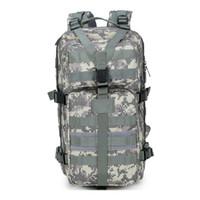 Wholesale Retail Outdoor P Military Tactical Backpacks Waterproof Nylon Oxford Camouflage L Rucksacks Camping Hiking Bag Trekking Bag Sho