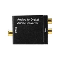 analog tv converter - Analog to Digital Signal Audio Sound Adapter ADC Converter Optical Coaxial RCA Toslink SPDIF Adaptor TV