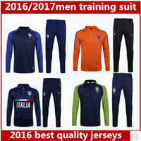 Wholesale thai quality France Italy Spain jerseys Netherlands Portugal England Training suits Holland football shirt Maillot de Foot