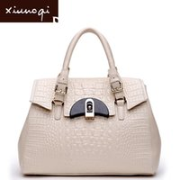Wholesale women s bag for Crocodile shaping bag genuine leather women s handbag first layer of crocodile winter handbag