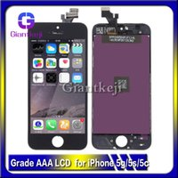 Wholesale AAA Quality LCD For iPhone C S LCD touch screen digitizer full set Assembly with fast shipping DHL