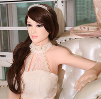 Wholesale 65 Inch Height Lifelike Realistic Soft White Skin D Cup Built in Skeleton Solid Sex Doll for Male