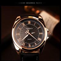 Wholesale Rose Gold Wrist Watch Men Top Brand Luxury Wristwatches Famous Male Clock Quartz Watch Golden Wristwatch Quartz watch Relogio Masculino