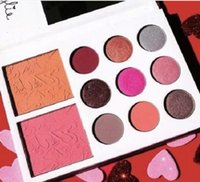 Wholesale New Kylie s Diary Limited Edition Palette Kylie Cosmetics Jenner Color Eye Shadow Color blush set