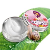 Wholesale Nature Snail Face Cream Moisturizing Anti Aging Whitening Cream For Face Care Acne Anti Wrinkle Superfine Skin Care Anti wrinkle ZA2109