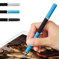 Wholesale in Mini Metal Fine Point Round Thin Tip Capacitive Stylus Pen For iPad air mini For Amazon Tablet