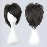 arcana famiglia cosplay - MCOSER Famous Halloween Style Handsome Man Black Arcana Famiglia Jolly Cosplay Wig Cosplay women s peruca hair queen wigs