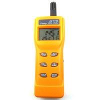 Vente en gros-Digital CO2 testeur de la qualité de l'air moniteur de gaz Analyzer CO2 thermomètre de compteur Hygromètre d'humidité de l'humidité 3-in-1 Détecteur de CO2 AZ7755