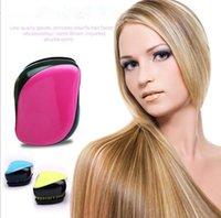 Wholesale DHL Hair Brush comb professional Detangler Hair Brush Detangle Comb Anti static escova de cabelo styling tools TA98