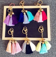 admiralty metal - South Korea is hanged admiralty head ornament ice silk tassel cute handbags car accessories jewelry key bag accessories