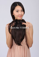 accessories toupee - New Premium Quality Natural Black Hair Replacement Toupee Queen Hair Products Top Lace Closure Synthetic Hairpieces Accessories