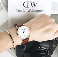Wholesale DW Lovers Bracelet Strap Available For Daniel Wellington Watches Collocation Gold and silver DW Classic Cuff
