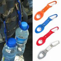 / aluminum sports bottle - Outdoors Sports Water Bottle Buckle Hook Holder Clip Bottle Hanger Aluminum Carabiner travel Survival Tool For Camping Hiking