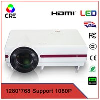 Venta al por mayor- China VGA DVD VGA HDMI TV HDMI multimedia LED comercial 3500 lúmenes proyector