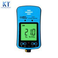 Vente en gros - AS8901 Détecteur de gaz Oxygène portable O2 Test Gamme de moniteur 0-25%