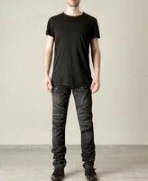 Wholesale New Slim Fit Men s Balmain Jeans Men s Biker Jeans Balmain Biker Stretch Denim Black Jeans Mens