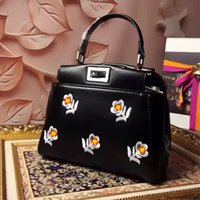 better quality cell phone - YX New brand designer bags peekaboo the import head cow leather and flowers colors better quality luxury mini bags