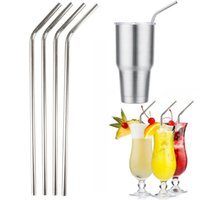 bars cleaners - Metal Drinking Straw Stainless Steel Straw Food Grade for Bar Xmas Club Party with Cleaning Brush for Z OZ CUPS