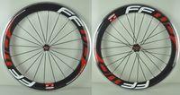 Wholesale Hot sale alloy carbon wheels white red grey decal road bike carbon alloy wheels mm C carbon bike wheelset