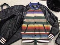 Wholesale Genuine Leather Jacket Coat High Quality Runway Jacket Coat By Italian Designer Luxury Brand Leather Jacket Coat
