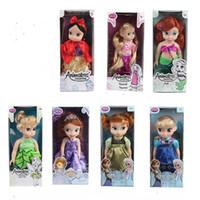 bella coffee - 12 inches of evade glue fair young fashion doll Princess Sophia dolls toy girls elsa anna sleeping beauty Cinderella bella