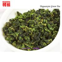 al por mayor té oolong verde-El vacío caliente de la venta 2 embala el té chino de 250g Anxi Tieguanyin, té fresco de Tikuanyin de China verde, té orgánico natural de Oolong de la salud