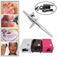 airbrush art - Dotting tool Air Brush Compressor Airbrush mm Needle Art Kit nail tools Body Paint Makeup Craft Cake Toy Models