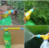 Wholesale Water Bottle Pneumatic Sprinkler Water Bottle Spraying Head Push Sprayer Spray Nozzle