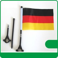 bicycle flag pole - Fedex freeshipping Bicycle flags custom make cm Digital Print D polyester pongee any logo any size customize bike flags with pole