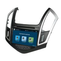 Wholesale Fit for Chevrolet CRUZE Android OS HD car dvd player gps radio G wifi bluetooth dvr OBD2 FREE MAP CAMERA