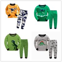 Wholesale Little Boys Cotton Pajama Kids Pjs Toddler Sleepwear Clothes for styles