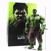 Wholesale Hot Avengers Incredible Hulk Iron Man Hulk Buster Age Of Ultron Hulkbuster CM PVC Toys Action Figure Hulk Smash Toy Gift For Boy