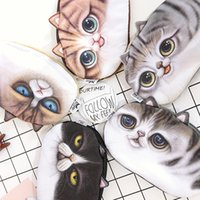 Wholesale 3D Cartoon Cat Zipper Case Coin Purse Mini Cute Kids Wallet Kawaii Storage Bag Women Makeup Buggy Bag Pouch Holder styles