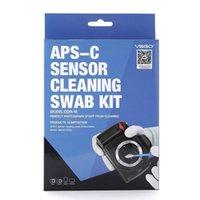 Wholesale VSGO Camera APS C DSLR Sensor Cleaning Kit Swab mm ml Sensor Cleaner RoHS Compliant Q TDPN Standard