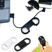 beer opener iphone - 20cm Micro USB Keychain Fast Charger Charging Sync Data Cord Cable Beer Bottle Opener For Samsung Android Smartphone mp4