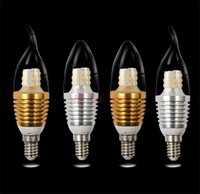 E12 E14 Flame High Power LED Chandelier Candle Light Filament Bulb Lamp