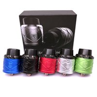 Replaceable 3.0ml Metal 2017 Royal Hunter X RDA Rebuildable Dripping Atomizer 5 Colors Peek Insulator Adjustable Airflow Control Fit 510 E Cigarette Mods DHL Free