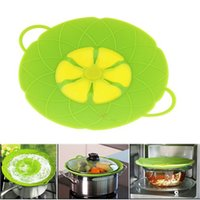 Wholesale Silicone Boil Lid Multi Function Cooking Tools Kitchen Cookware Parts Pan Cover