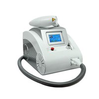 acne removal tips - Q Switch ND YAG Laser Tattoo Removal Machine Pigments Removal Three Treatment Tips nm nm nm Touch Screen ND Yag Laser MJ