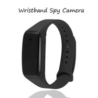 Wholesale 32GB Portable Wristband Camcorder HD P Covert Camera Wearable Video Cameras Rechargeable Bracelet DVR Cam with Audio Recording