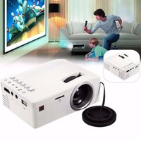 Wholesale Full HD P Home Theater LED Multimedia Projector Cinema TV HDMI White EU home projector hdmi projector