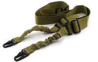 Vente en gros Double point de sangle tactique Multifonctionnel sangle Rifle fusil de chasse Bouilloire bouilloire escalade sécuritaire tactique Sling promotion