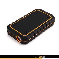 Wholesale iRULU Portable Car Jump Starter Emergency Power Bank Charger A Peak mAh Current Advanced Safety Protection Built In LED Flashlight