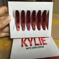 Wholesale TOP GIFT KYLIE JENNER Valentines Set Lipstick Comestics LIP KIT Kylie Lip VALENTINE edition Matte Lipstick Makeup Lip Gloss Make Up