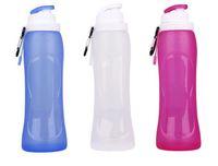 best centres - bpa free Safe best nalgene OTF foldable water bottle reusable personalised foldable drink bottles for kids JF