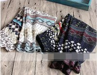 Wholesale 2017 New Baby Girl Fashion Pants Contrast Color Printing Casual Trousers Children Clothing T